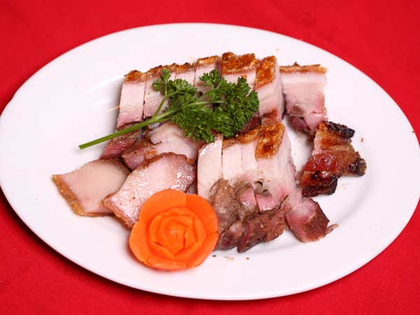 Honey Roast Pork or Crispy Skin Pork