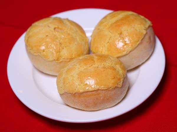 Pineapple Baked Bun