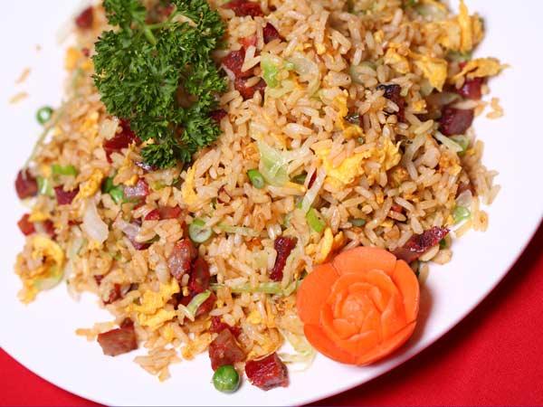 Chicken or Roast Pork Fried Rice