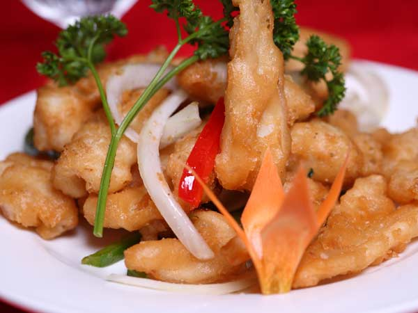 Salt & Pepper Crispy Squid