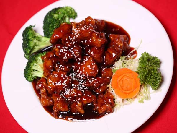 Sesame or Honey & Garlic Chicken